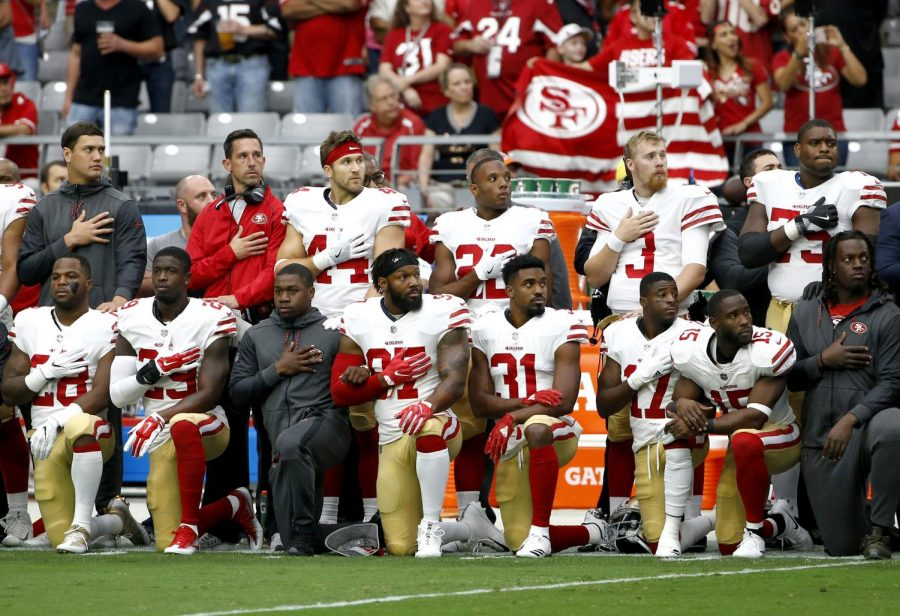 Last+year%2C+anthem+protests+by+NFL+players+incited+considerable+controversy.