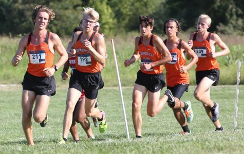 EHS Cross Country Sweeps at Home