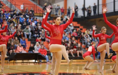 Dance Team Hosts Competition, Looks Toward Sectionals
