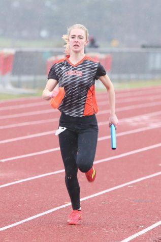 Girls Track Hurdles into Season