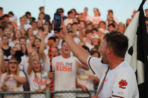 New Orange Rush Leader Rallies Fan Section