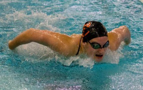 Girls Swim Caps off Successful Season