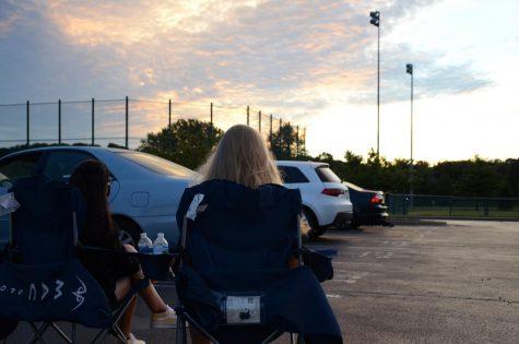 Seniors await the sun