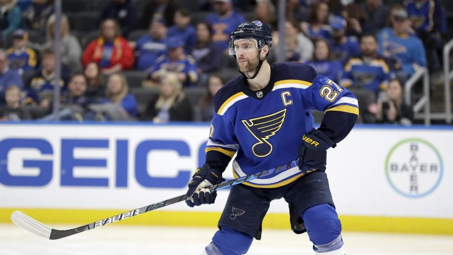 Alex Pietrangelo has been captain of the Blues since 2016 and has become one of the top defensemen in the entire league.