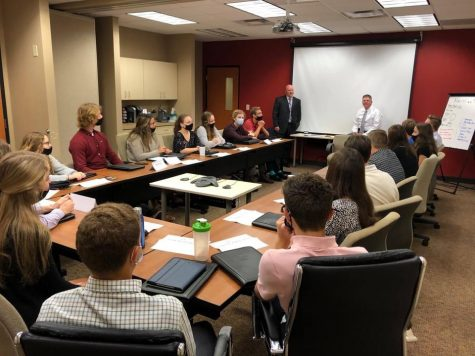 CEO students receive instruction from guest speakers.