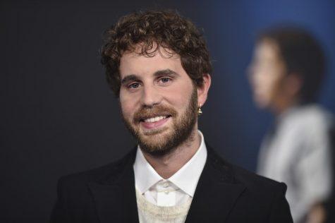 Ben Platt at Dear Evan Hansen movie premiere.